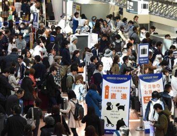 Traficul aerian din Japonia este dat peste cap din cauza unui taifun