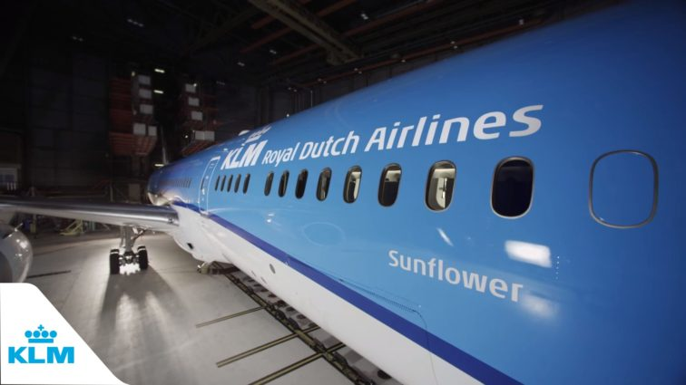 KLM suspendă temporar zborurile din Amsterdam către Cairo, Egipt