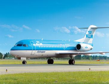 KLM cityhopper retrage din flotă toate aeronavele Fokker 70