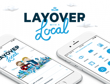 "Despre aplicația ""Layover with a Local"" by KLM"