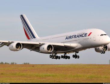 Un zbor AirFrance văzut dintr-un alt unghi