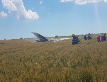 Accident: Un avion MIG 21 Lancer s-a prabușit lângă aeroportul din Constanța (VIDEO)