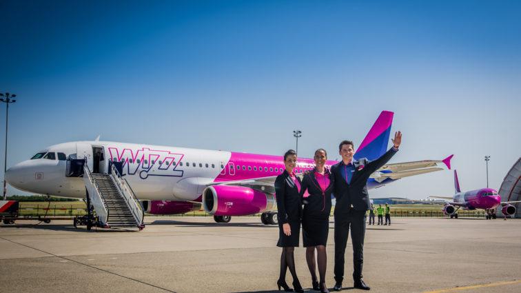 Wizz Air a transportat 3.000.000 de pasageri din și către Timișoara