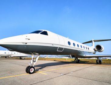 Klaus Iohannis a zburat cu un business jet pentru vizita din SUA (FOTO)