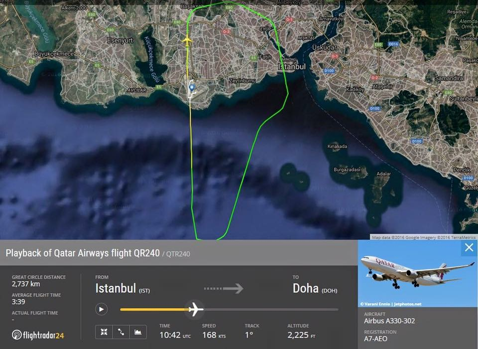 qr240 flightradar
