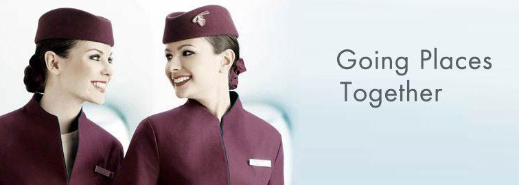 Qatar Airways: Sesiune de recrutări însoțitori de bord la Cluj, în data de 18 iunie 2016