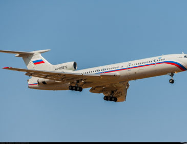 ACCIDENT: Un Tupolev TU-154 al armatei rusești s-a prăbușit în acestă dimineață în Marea Neagră (FOTO)