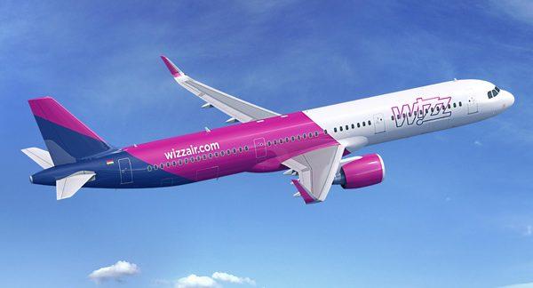 Wizzair va zbura de la București cu Airbus A321 către noi destinații începând cu primăvara anului viitor