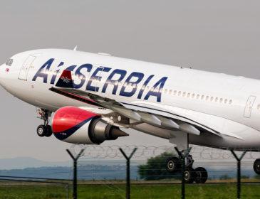 Air Serbia reduce numărul de zboruri către New York în sezonul de iarnă