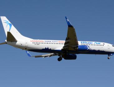 Blue Air inaugurează mâine baza aeriană de la Liverpool